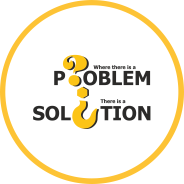 where there is problem, there is a solution